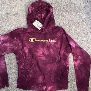 Tie-dye Champion Hoodie
